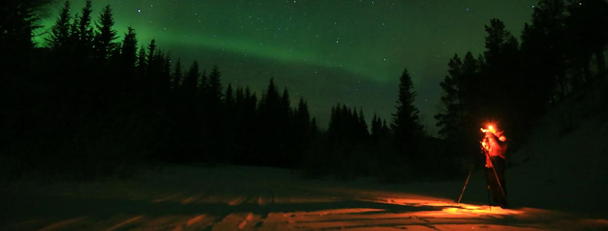 Les aurores boréales sont-elles faites de la matière dont on tisse les rêves ?