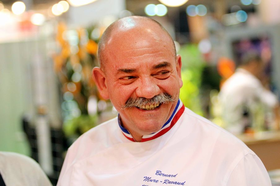 Meilleurs Ouvriers de France, Les Cols de l'excellence.  Bernard Mure-Ravaud M.O.F. 2007