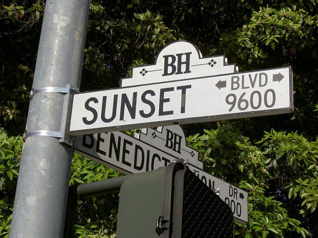 Sunset, boulevard des Amériques