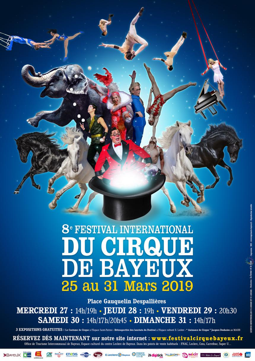 Le 8ème Festival International du Cirque de Bayeux