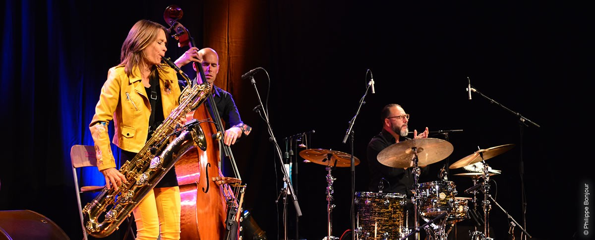 Céline Bonacina trio Au Festival Jazz au Sommet 2020