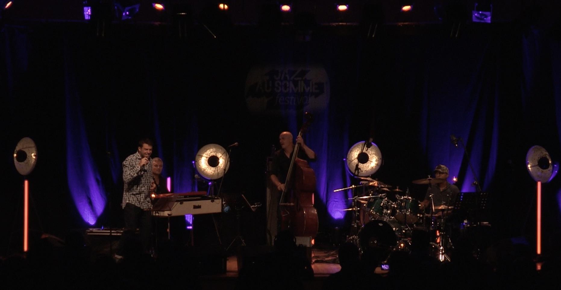 Manu Katché Alfio Origlio quarter feat Walter Ricci Au Festival Jazz au Sommet 2020